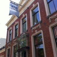 Photo taken at Stadscafé-Restaurant 't Feithhuis by Petra T. on 7/19/2013