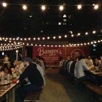 Photo taken at Banger's Sausage House & Beer Garden by Travis on 4/8/2013