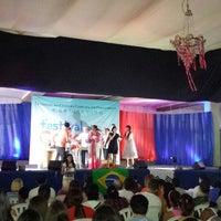Photo taken at Festival da Cultura Coreana by Mychelle J. on 9/27/2014