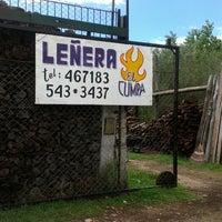 Photo taken at Leñera El Cumpa by Ignacio V. on 1/25/2014