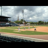Photo taken at Bragan Field at the Baseball Grounds of Jacksonville by Mark C. on 7/31/2013