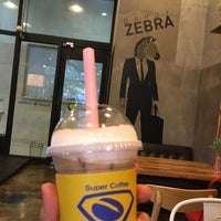 Photo taken at Super Coffee by Ungju L. on 10/2/2016