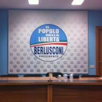 Photo taken at Sede Regionale Popolo della Libertà by Mario F. on 11/8/2012