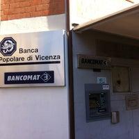 Photo taken at Banca Popolare Di Vicenza by Mario F. on 1/5/2013