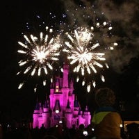 Photo taken at Wishes Nighttime Spectacular by Erin G. on 6/27/2013