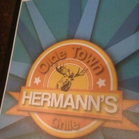 Photo taken at Hermann's Olde Town Grille by Mark D. on 3/9/2013