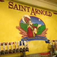 Photo taken at Saint Arnold Brewing Company by Lesley H. on 7/27/2013