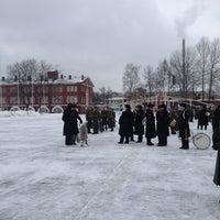 Photo taken at Военный Институт Физической Культуры by Артем Ч. on 4/2/2013