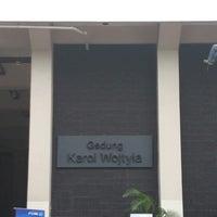 Photo taken at Gedung Karol Wojtyla by Masakazu K. on 3/23/2014