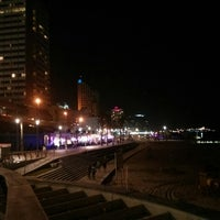 Photo taken at Tel Aviv Marina promenade by Негодяй К. on 6/16/2014