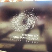Foto tirada no(a) Museu da Língua Portuguesa por Jan M. em 7/20/2013