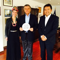 Photo taken at Oficina Económica y Comercial de la Embajada de España en Colombia by Hugo C. on 6/18/2015