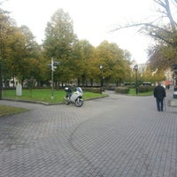 Photo taken at Jēkaba laukums by Alexey P. on 10/16/2012