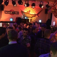 Photo taken at Lotte's Haifischbar by Marco M. on 3/15/2014