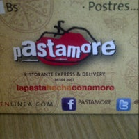 Photo taken at Pastamore by Daniela P. on 3/9/2013