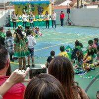 Photo taken at Colégio Guilherme de Almeida by Paulo B. on 6/14/2014