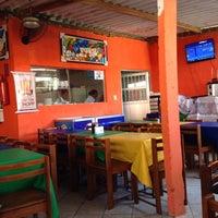 Photo taken at Bar e restaurante Fundo de Quintal by Leila B. on 4/8/2014