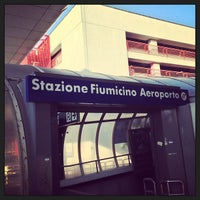 Photo taken at Fiumicino Airport Railway Station (ZRR) by BoBpp on 7/1/2013