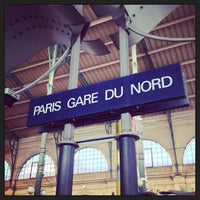 Photo taken at Paris Nord Railway Station by BoBpp on 7/6/2013