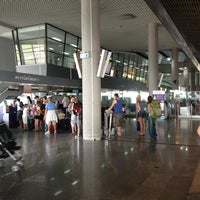 Photo taken at Krabi International Airport (KBV) by Kenie on 2/13/2013