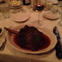 Photo taken at Kreis' Steakhouse by Mark K. on 2/23/2014
