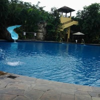 Photo taken at Araya Swimming Pool by Binti M. on 6/13/2013