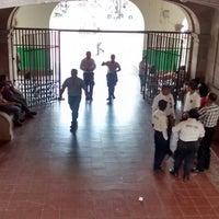 Photo taken at Palacio Municipal Acayucan by Villo R. on 10/9/2014