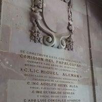 Photo taken at Palacio Municipal Acayucan by Villo R. on 10/6/2014