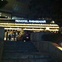 Photo taken at Novotel Ambassador Gangnam, Seoul by KRR S. on 2/18/2013