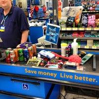 Photo taken at Walmart Supercenter by Charlie K. on 6/2/2013