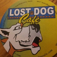 Photo taken at Lost Dog Cafe by Brad M. on 10/5/2012