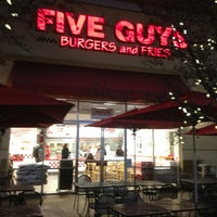Photo taken at Five Guys by Rob T. on 1/4/2013