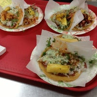 Photo taken at Tacos El Gordo by Taylor M. on 6/10/2013
