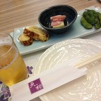 Photo taken at 魚初 by Masato I. on 4/9/2013