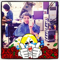 Photo taken at Dada Hair Group by Helen Do (. on 2/1/2013