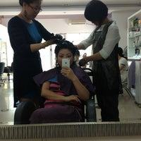 Photo taken at Dada Hair Group by Helen Do (. on 2/3/2013