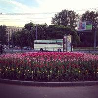 Снимок сделан в Площадь Мужества пользователем Sikorskiy V. 5/24/2013