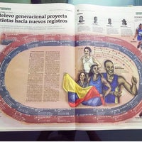 Photo taken at Periódico El Colombiano by David M. on 10/23/2016