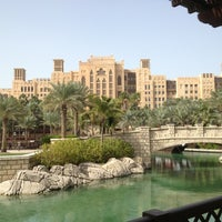 Photo taken at Madinat Jumeirah Private Beach by Anton R. on 12/29/2012
