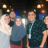 Photo taken at Delilicious Cafe UNITAR International University by Amirul A. on 2/29/2016