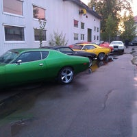 Photo taken at Muscle Garage by Alexander M. on 7/22/2013