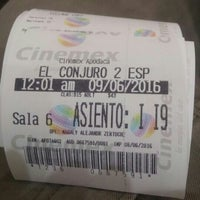 Photo taken at Cinemex by Rubbest M. on 6/9/2016
