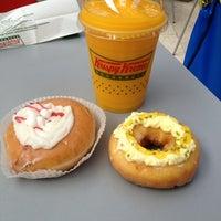Photo taken at Krispy Kreme by Simon D. on 7/10/2013