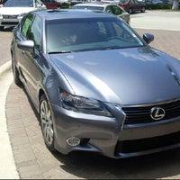 Photo taken at Lexus of Palm Beach by Erik on 6/22/2013