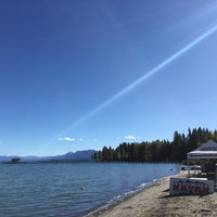 Photo taken at Commons Beach by Erik on 10/2/2017