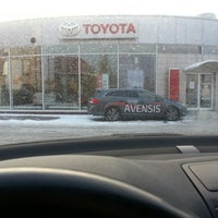 Photo taken at Toyota Ja-Now-An by Marcin K. on 12/13/2012