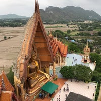 Photo taken at Wat Tham Kao Noi by Earth T. on 4/29/2017