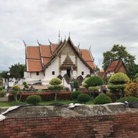 Photo taken at Wat Phu Mintr by Earth T. on 8/25/2017
