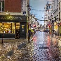 Photo taken at Boulangerie Du Lion by Valery U. on 1/5/2014