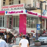 Photo taken at Fatih Kozmetik Avcilar by İbrahim K. on 7/26/2013